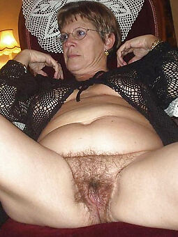 reality superannuated hairy ladies naked