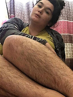 attracting hairy legs and pussy