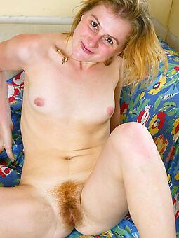 sexy hairy blonde bush