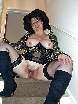 sure thing hairy pussy in stockings photo