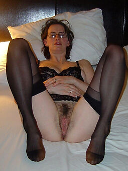 hairy pussy with stockings
