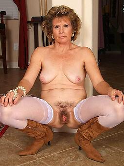 sexy hairy close to stockings
