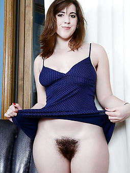 lovely hairy girl photo