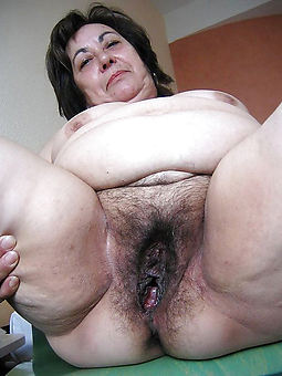 german hairy bush granny