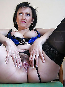 of age stockings hairy