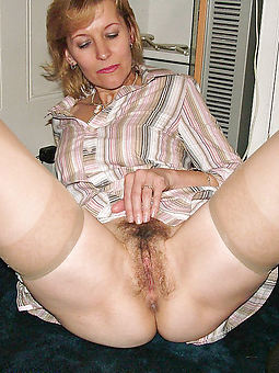 hairy women in stockings