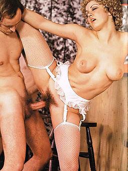 hairy retro nudes