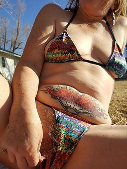 hotties panty hairy pussy