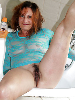 ideal hairy hot mom