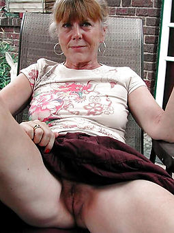 very hairy aged women coupled with still down in the mouth