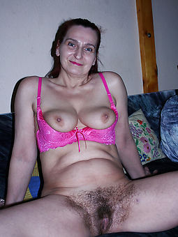 very hairy lady