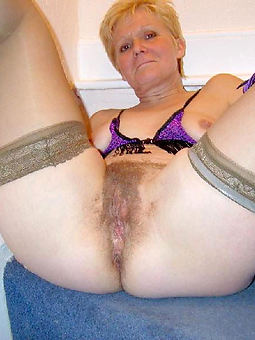 hot hairy mature pussy stripping