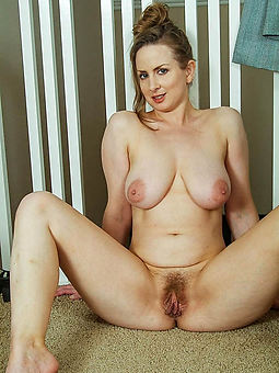 adorable mature hairy naked