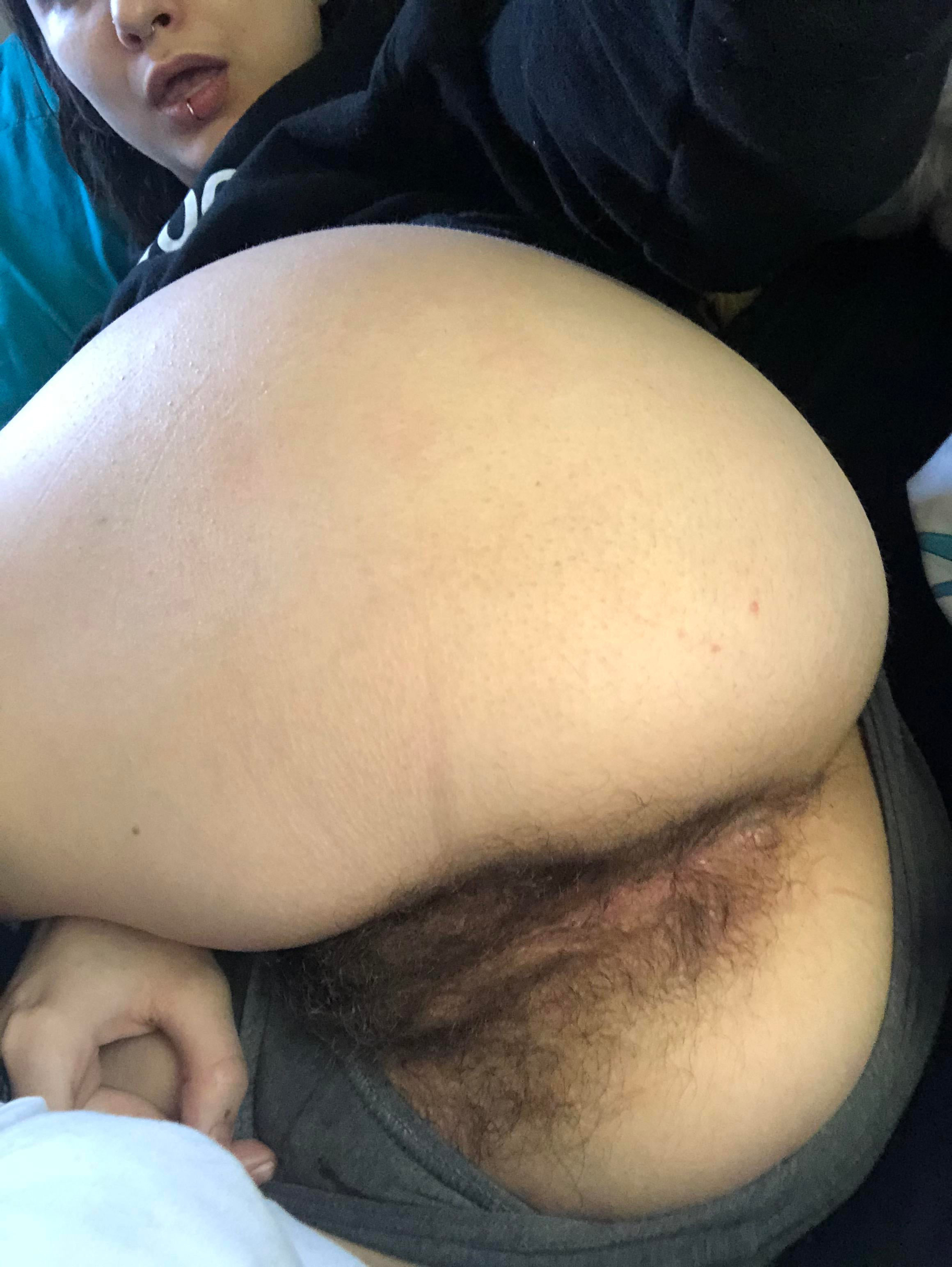 Ass hairy pussy Teen Butts,